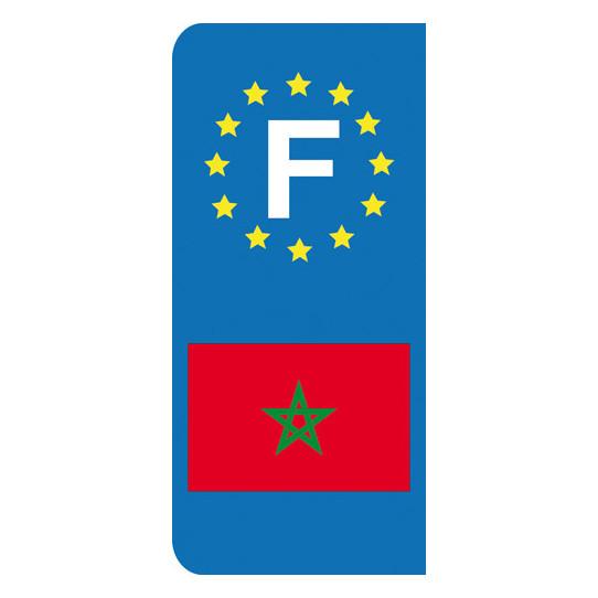 Stickers Plaque Maroc