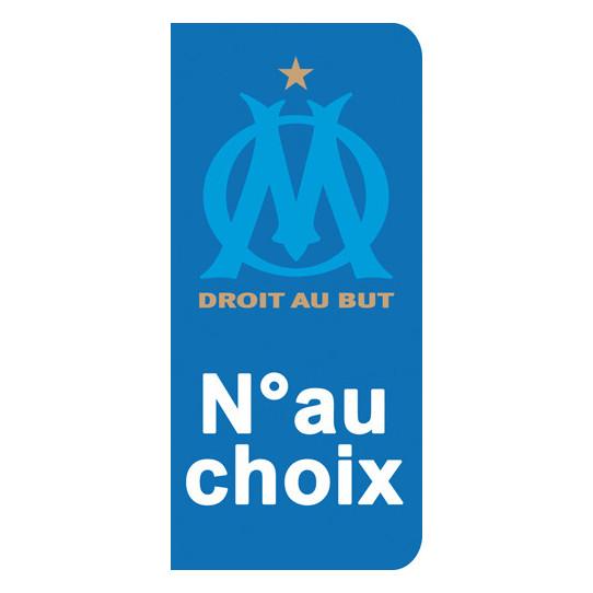 Stickers Plaque Marseille