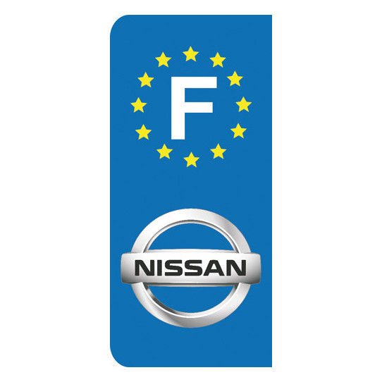 Stickers Plaque Nissan