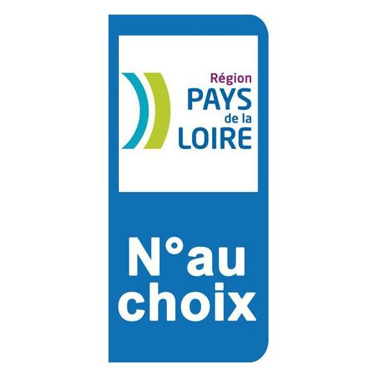 Stickers Plaque Pays de la Loire