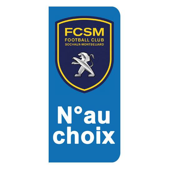 Stickers Plaque Sochaux