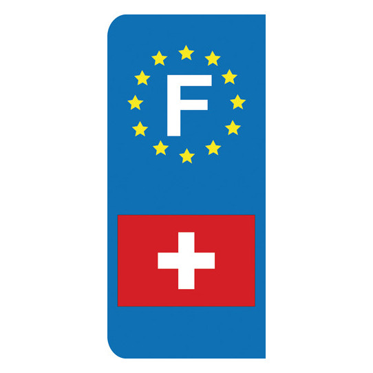 Stickers Plaque Suisse