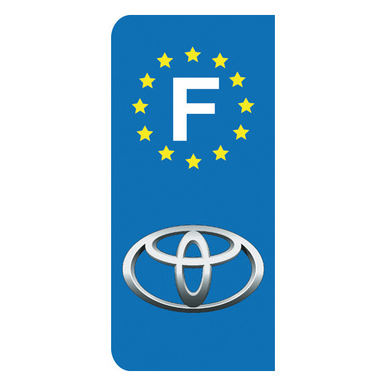 Stickers Plaque Toyota