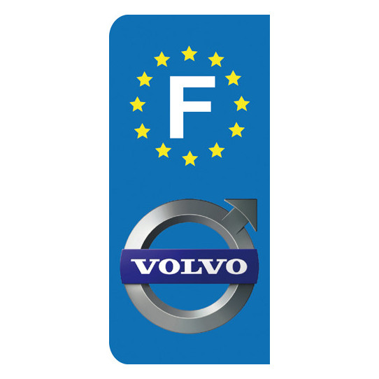 Stickers Plaque Volvo