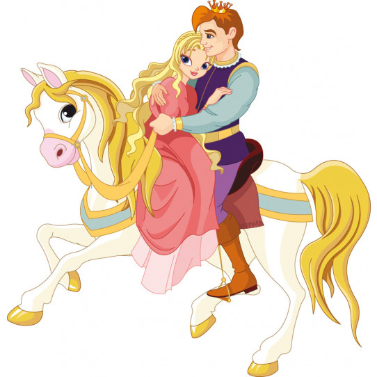 Stickers prince et princesse