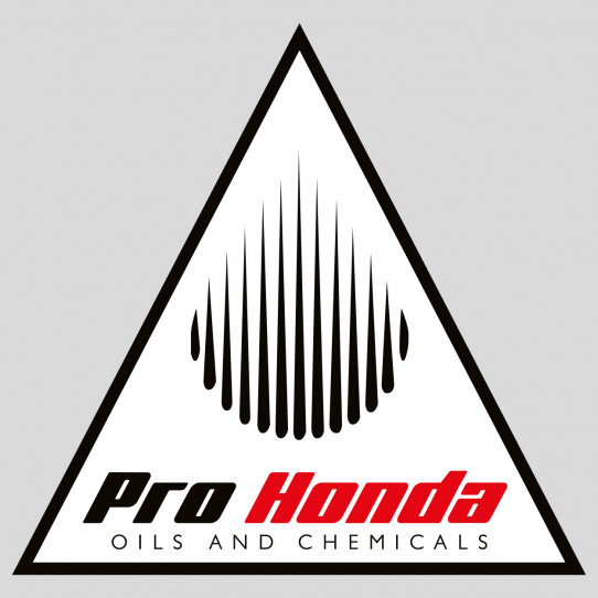 Stickers Pro honda oils and chemicals