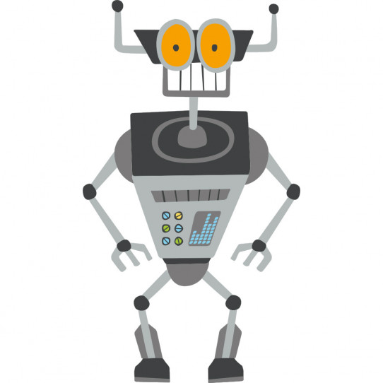 Stickers robot