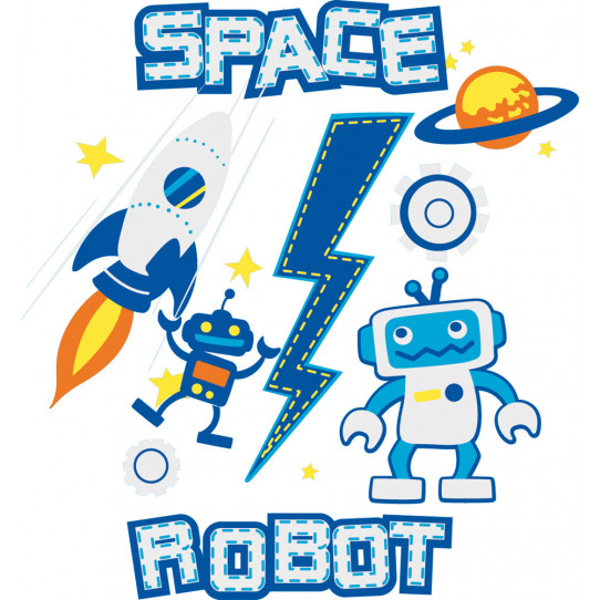 Stickers robot espace