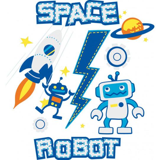 Stickers robot espace