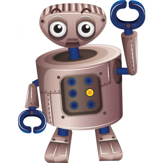 Stickers robot pince