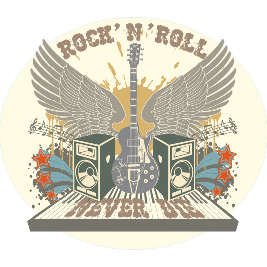 Stickers rock'n'roll