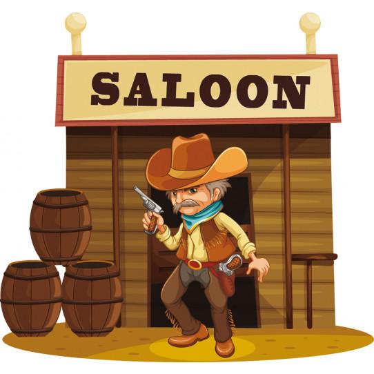Stickers saloon