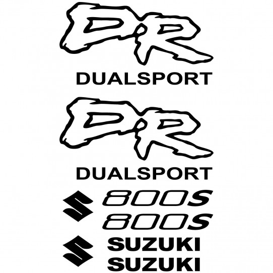 Stickers Suzuki DR 800s