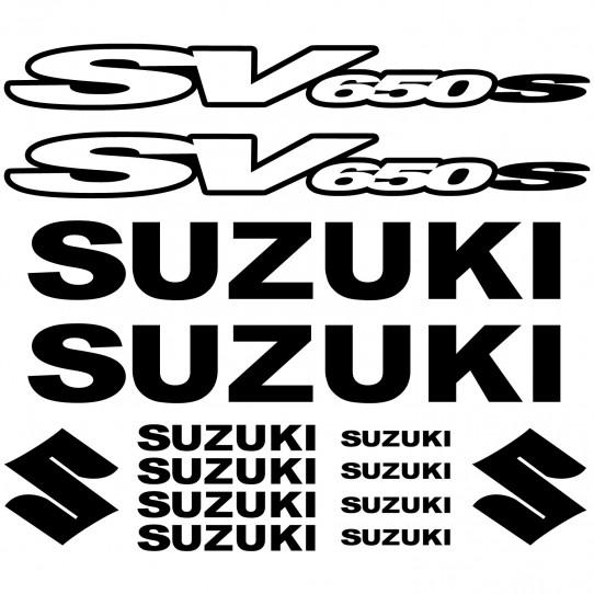Stickers Suzuki SV650 S