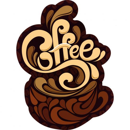 Stickers tasse à café coffee