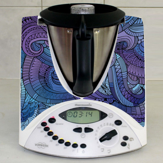 Stickers Thermomix TM 31 Abstrait 4