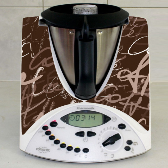 Stickers Thermomix TM 31 Coffee