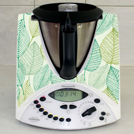 Stickers Thermomix TM 31  Feuilles d'automne 2