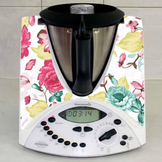 Stickers Thermomix TM 31 Fleur