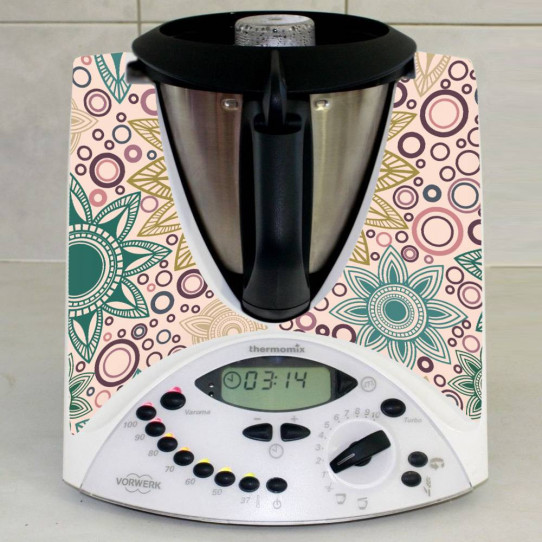 Stickers Thermomix TM 31 Rond design
