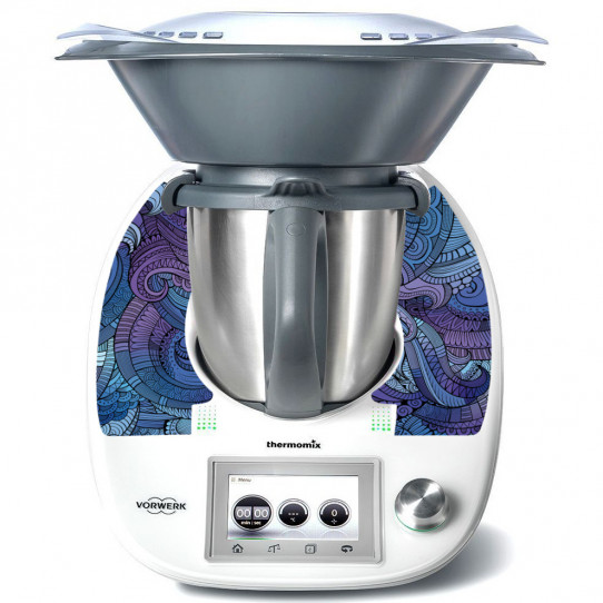 Stickers Thermomix TM 5 Abstrait 4