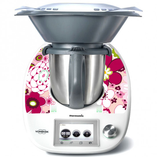 Stickers Thermomix TM 5 Flowers 4