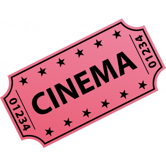 Stickers ticket cinema