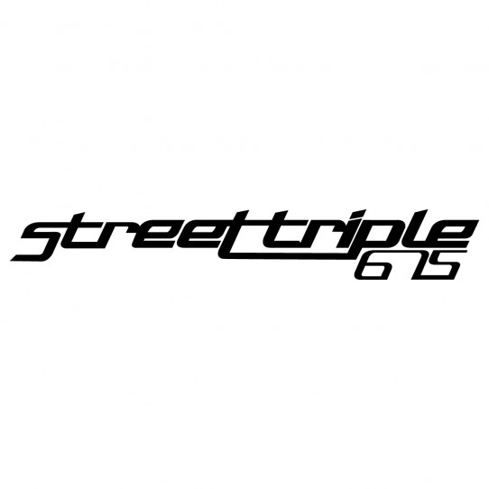 Stickers triumph street triple 675