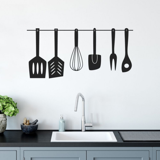 stickers pour cuisine 50 sur les prix magasin stickers. Black Bedroom Furniture Sets. Home Design Ideas