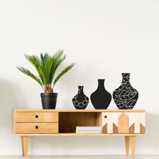 Stickers vases