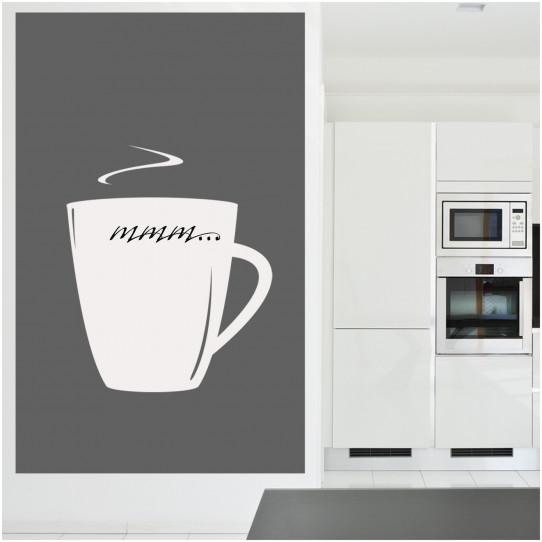Stickers velleda tasse à café