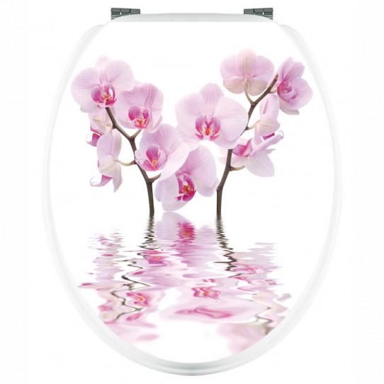 Stickers WC Orchidées