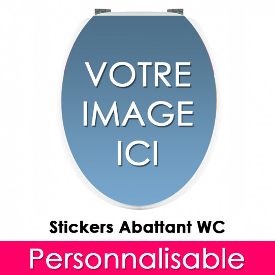 Stickers WC Personnalisable