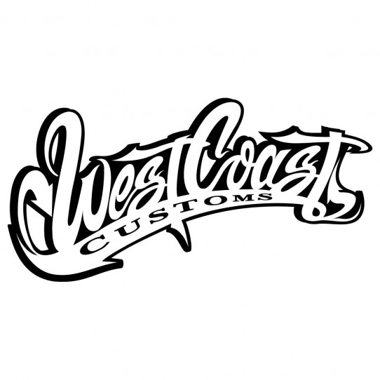 Stickers west coast customs