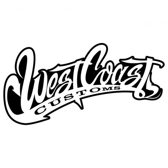 Stickers west coast customs