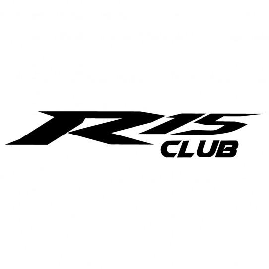 Stickers yamaha r15 club