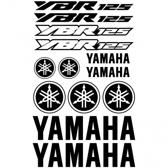 Stickers Yamaha YBR 125