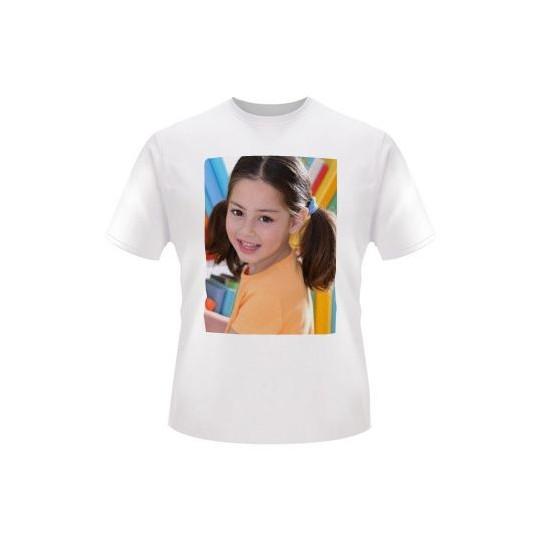 T-shirt Personnalisé Blanc