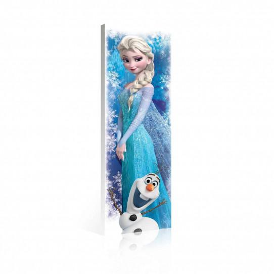 Tableau 145x45 cm La reine des neiges