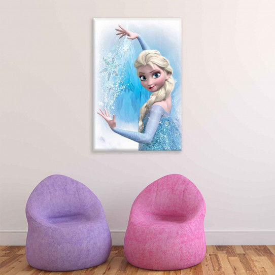 Tableau 40x60 cm La reine des neiges