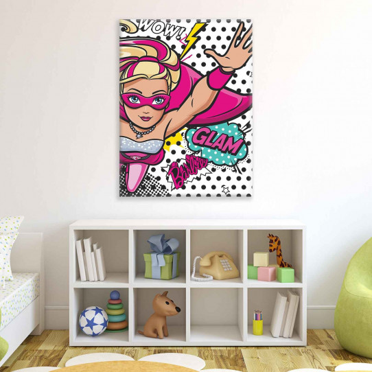 Tableau Barbie 60x80 cm