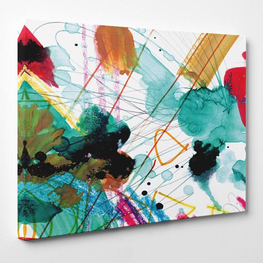 Tableau toile - Abstrait 48