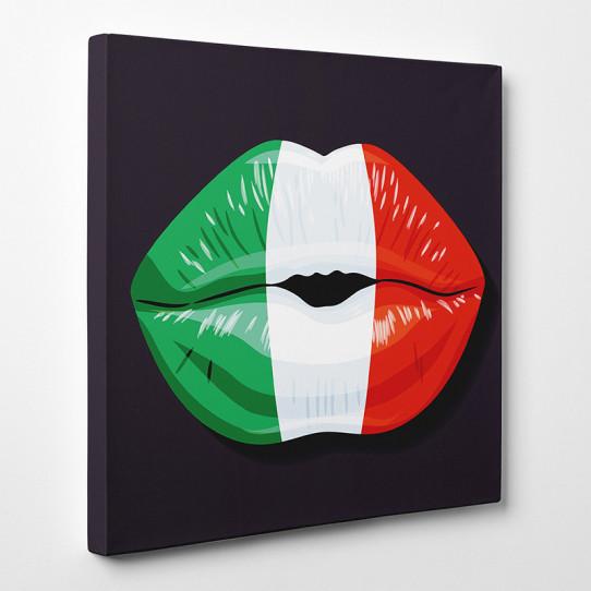 Tableau toile - Bouche Italie