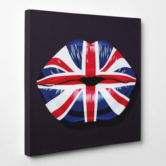 Tableau toile - Bouche United Kingdom