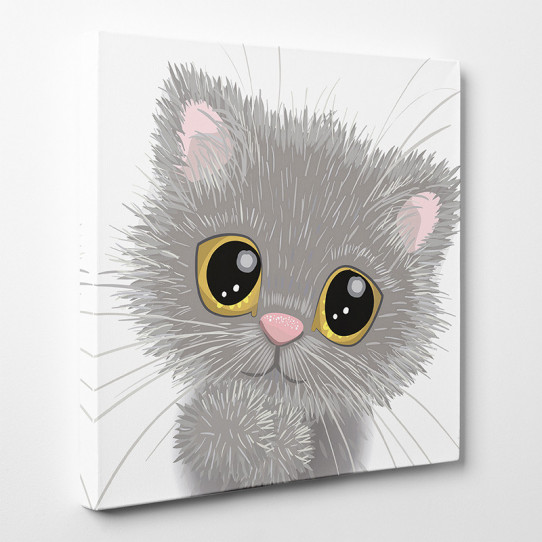 Tableau toile - Chaton 7