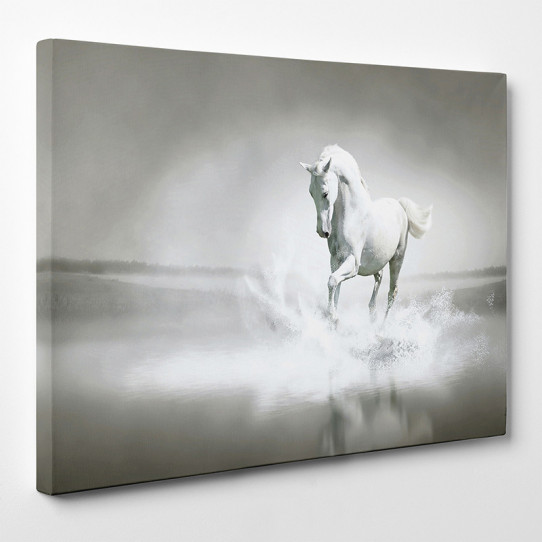 Tableau toile cheval 11 des prix 50 moins cher qu 39 en magasin - Tableau de cheval ...