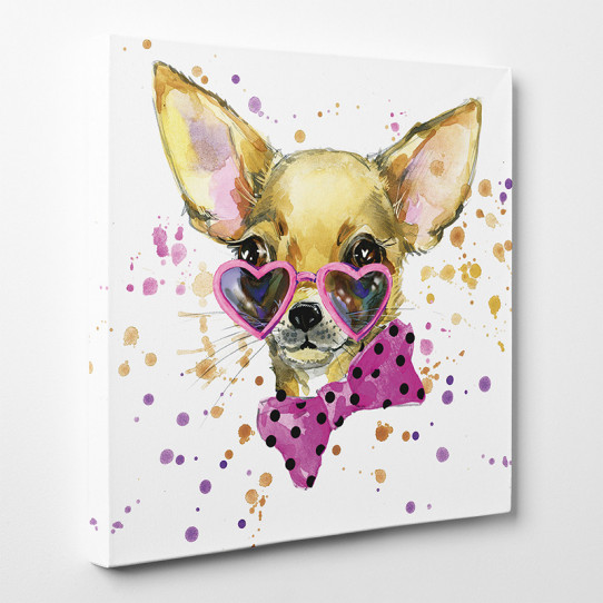 Tableau toile - Chihuahua Cool