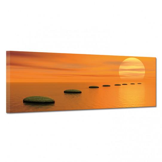 Tableau toile - Couché de soleil 5