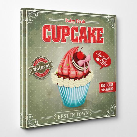 Tableau toile - Cupcake 2