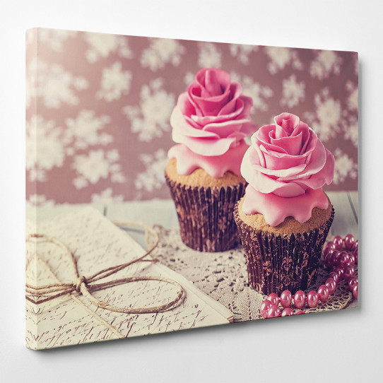 Tableau toile - Cupcakes 4